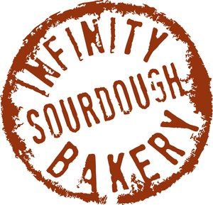 Infinity Sourdough Bakery Logo Edge Environment