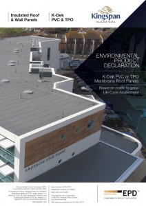 Kingspan K-Dek PVC or TPO Membrane Roof Panels - Edge