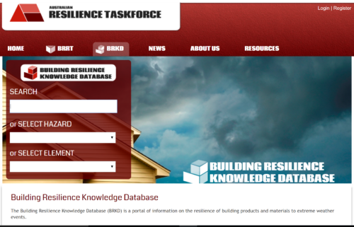 Insurance Council of Australia: Building Resilience Knowledge Database