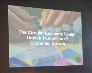 The circular economy has the potential to provide significant economic growth (Source: Candice Quartermain)