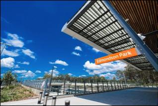Edmondson Park Interchange case study: Triple Bottom Line Evaluation of the Sustainable Design Guidelines, Version 4