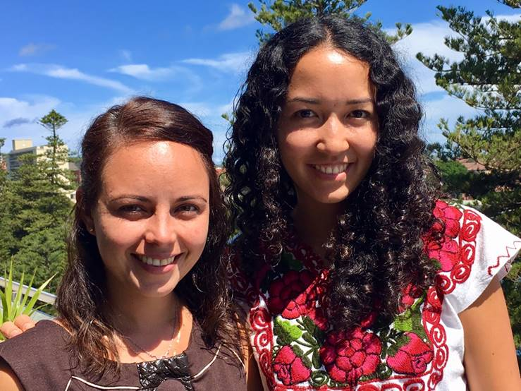 Welcome to Iris and Elizabeth, our first Professional Experience Program participants