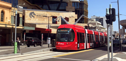 Newcastle Light Rail IS Rating Support